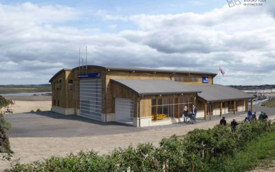 Planning in at Wells-next-the-Sea for RNLI