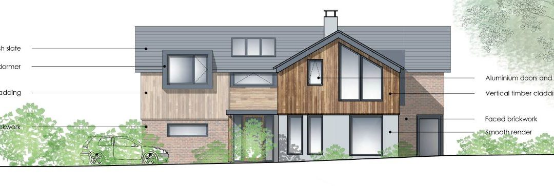New Build House, Braishfield