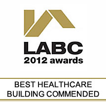 LABC Excellence Awards Best Healthcare Building Commended