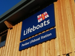 RNLI Penlee completed photo 16 - Lifeboats signage S4