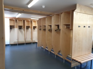 RNLI Penlee completed photo 22 - crew changing room S4