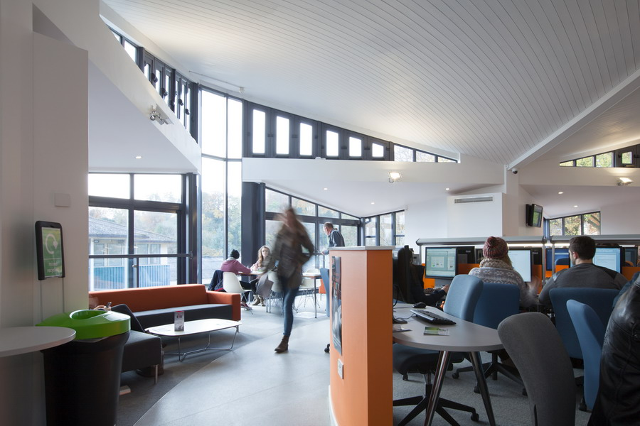 Southampton To Winchester >> Learning Cafe, University of Winchester | Studio Four Architects