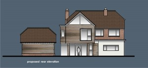 35005 proposed rear elevation
