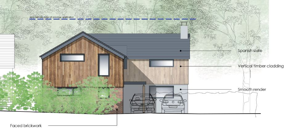 Planning Permission for New Build House | Studio Four Architects