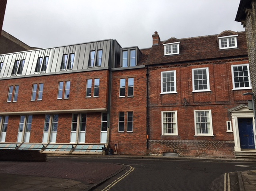 Trafalgar House Completed, Winchester