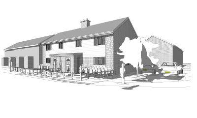 Planning permission for two new dwellings