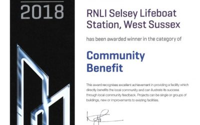 "Winner of ""Community Benefit"" Category"