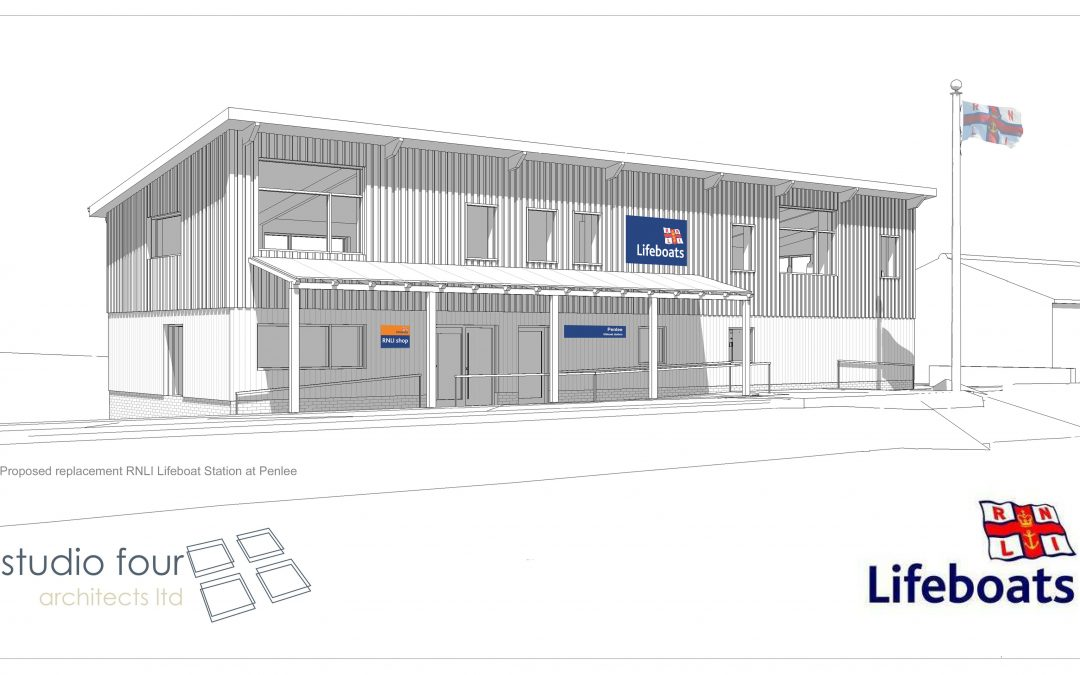 Penlee Lifeboat Station starts on site