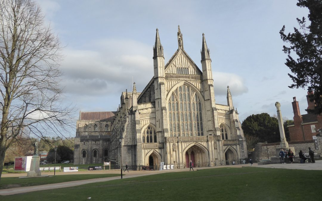 Private tour of Winchester Cathedral.
