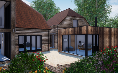 Works to existing dwelling in Wherwell