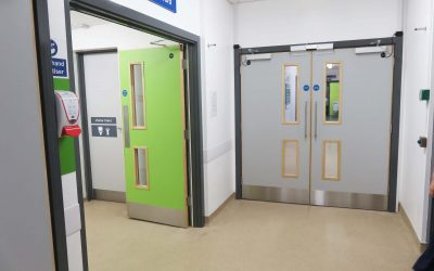 Fire Compartmentation at Romsey Hospital