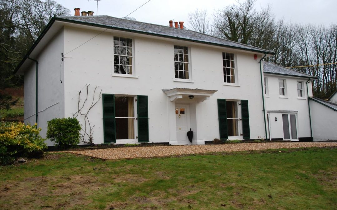 White House at Leckford ready for a new family