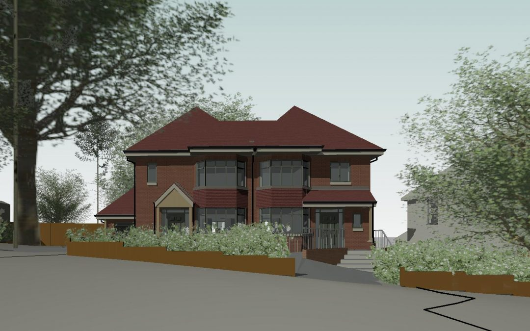 Planning for 2 new dwellings
