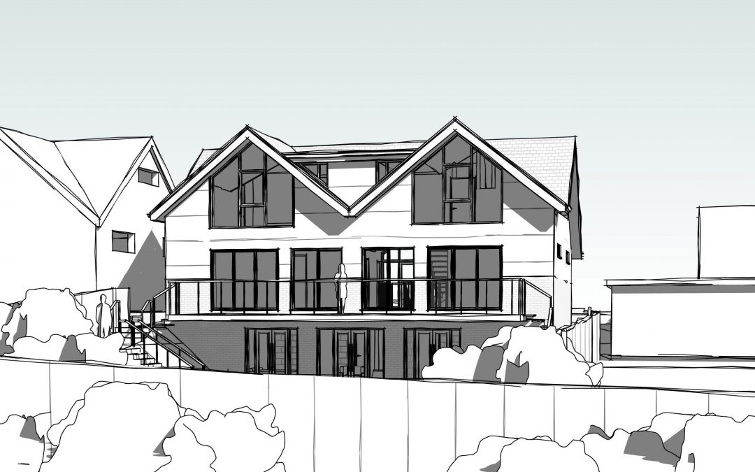 Planning submitted for new build Winchester home